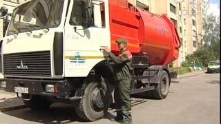 cTV.BY: Один день с водителем мусоровоза Александром Кащеем