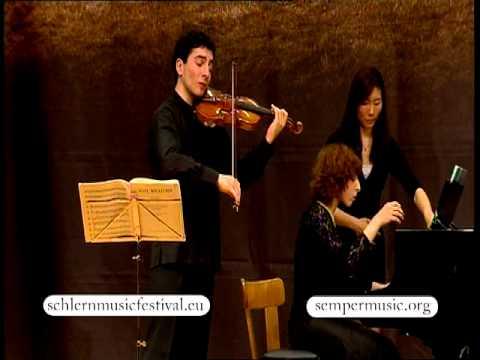 2012 Schlern Music Festival - Sergey & Lusine Khachatryan - Brahms: Violin Sonata No 3 (II)