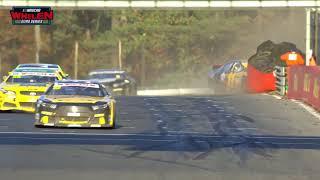Felipe Rabello massive crash at Zolder   NASCAR GP BELGIUM 2018