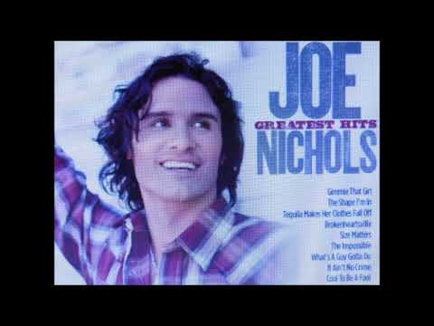 ★JOE NICHOLS  ★⑤SONG  ★PURE COUNTRY  ★①Brokenheartsville ②Size Matters (Someday)