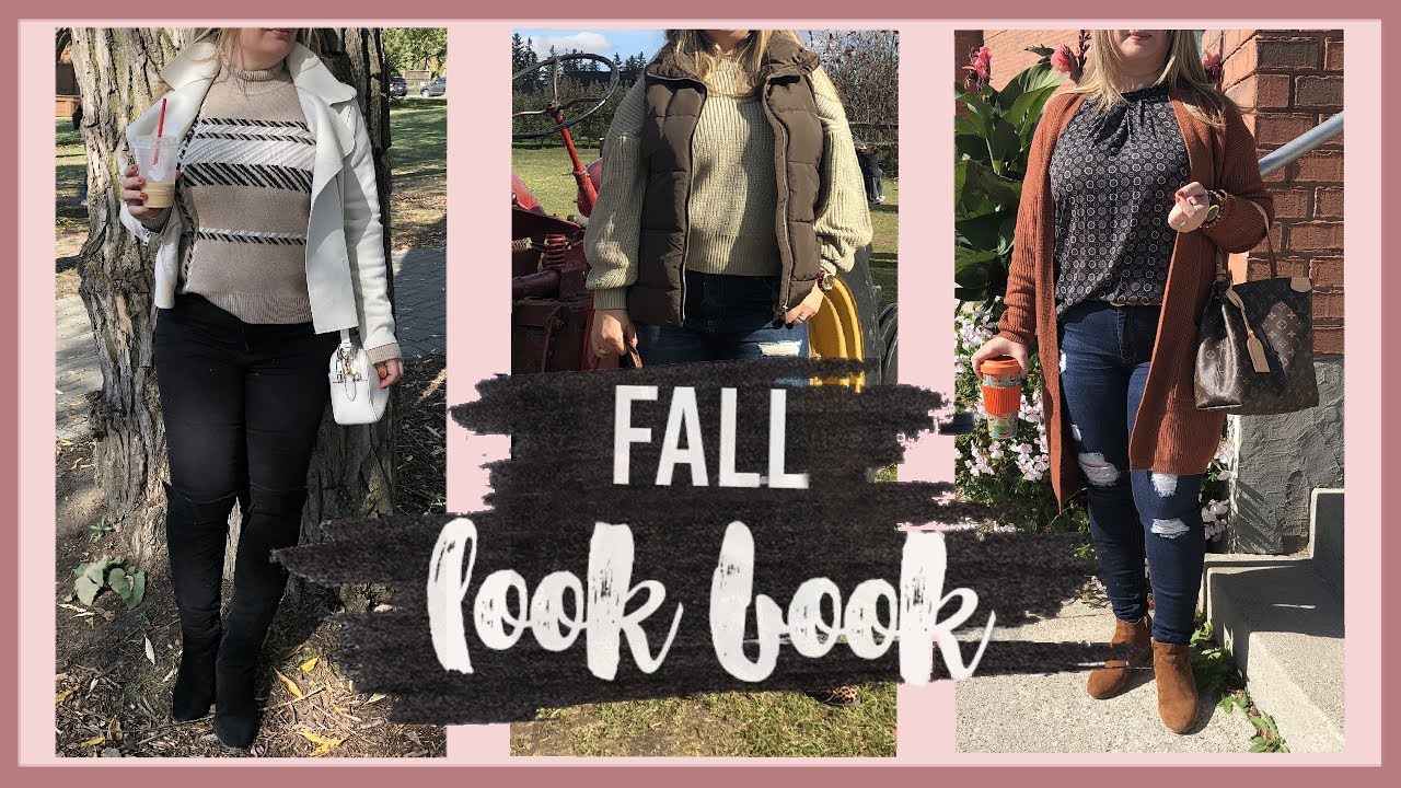 [VIDEO] - FALL LOOKBOOK 2019 | dressing up fall outfits with bags, shoes, accessories, perfume 2