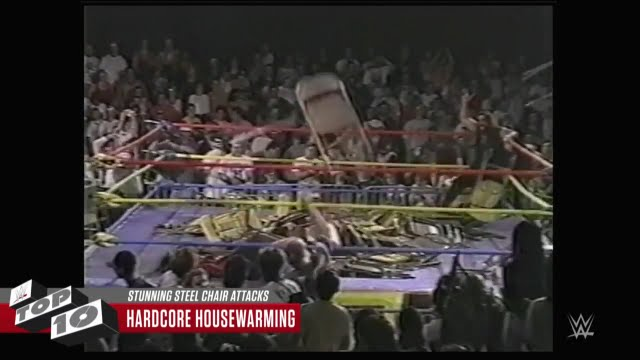 stunning steel chair attacks desk unique wwe top 10 youtube 720p