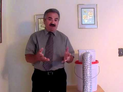 Indoor Dryer Vent and Lint Collector - YouTube
