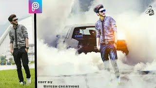 picsart car editing, picsart background change, picsart editing, how to edit photo in picsart app,