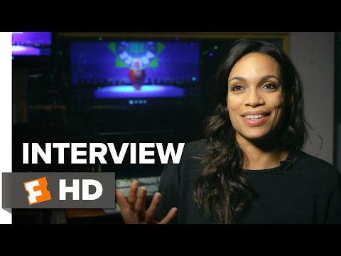 The LEGO Batman Movie Interview - Rosario Dawson (2017) - Animated Movie