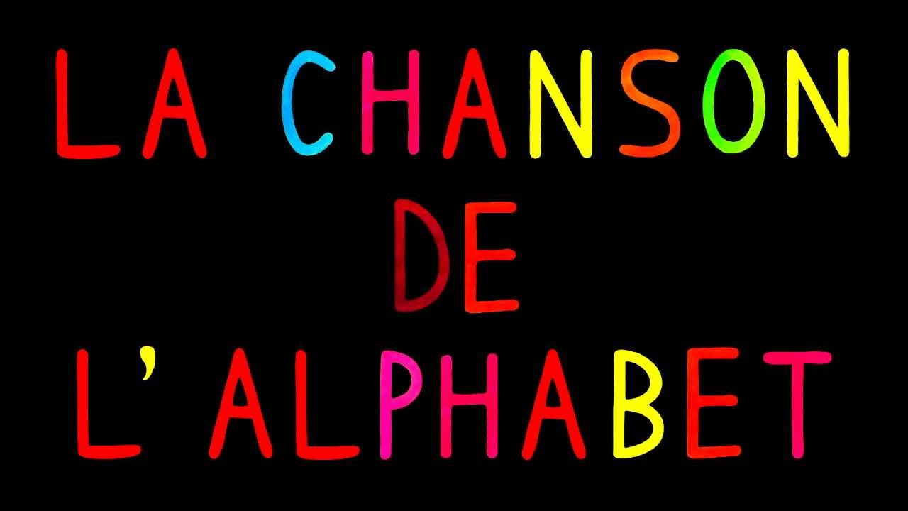 La chanson de l'alphabet - Comptine - YouTube