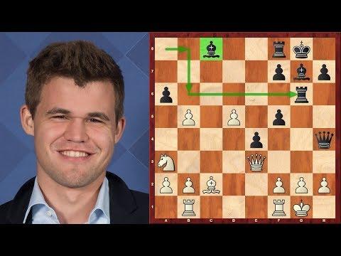 Шахматы. Магнус Карлсен. Лучшее место для слона - начальная позиция!
