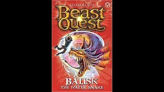 Beast Quest Reviews Series 8 - Balisk The Water Snake