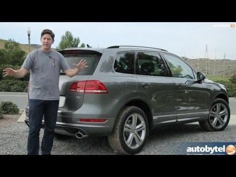 2014 Volkswagen Touareg TDI R-Line Test Drive & Diesel SUV Video Review