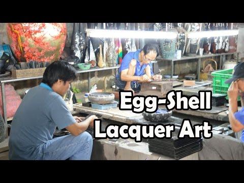 Egg Shell Art Lacquerware, Vietnam