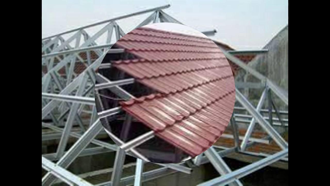 rangka baja ringan bali atap di singaraja murah 0818 0530 3953 youtube