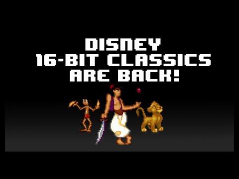 disney reestrena tres juegos en 16 bits