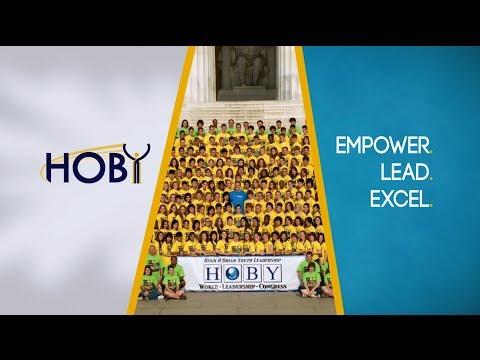 HOBY - Inspiring Change, Changing Lives