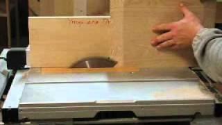 изготовление филенок на кругопильном станке(Как изготовить филенки для мебели с помощью простых приспособлений и кругопильного станка., 2011-11-02T10:23:31.000Z)