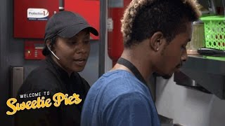 Chef Clark Gives Charles a Chopping Lesson | Welcome to Sweetie Pie's | Oprah Winfrey Network