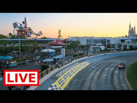 🔴 LIVE:  Disney's Magic Kingdom || People Mover, Jungle Cruise & Teacups!