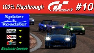 Gran Turismo 3 - #10 -  Spider & Roadster (100% PT)