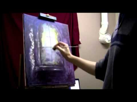 How To Paint On Glass Windows With Acrylics