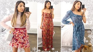 New Christmas Dresses Try on Haul & An Emotional Day! | Vlogmas Day 6