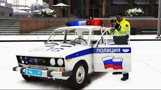 ПОГОНЯ ДПС С ПЕРЕСТРЕЛКОЙ  ПОЛИЦЕЙСКИЕ БУДНИ в ГТА 5