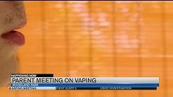 Parents gather in Woodland Park to discuss teen vaping and marijuana use