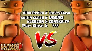 TORNEIO DOS YOUTUBERS! CLASH OF CLANS!