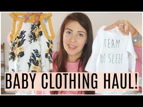 NEWBORN BABY CLOTHING HAUL! | BABY GIRL CLOTHING HAUL | KERRY CONWAY