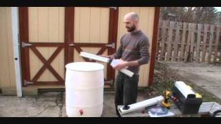 Simple, Best Way To Connect Rain Barrel To Downspout: Downspout Diverter