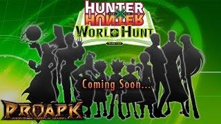 Hunter x Hunter World Hunt Gameplay Android / iOS (JP) (CBT)