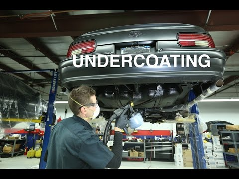 How to Undercoat Your Car