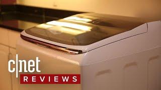 Samsung WA54M8750AW washing machine review