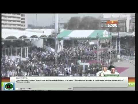 Nigerian Presidential Inauguration 2015