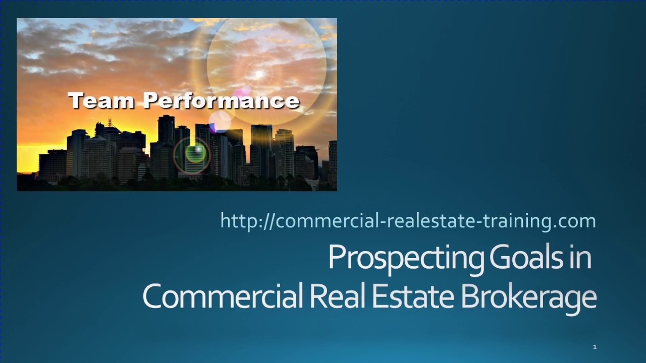 Commercial Real Estate Training Online Youtube