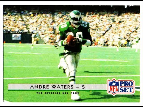 PHILADELPHIA EAGLES ANDRE WATERS Highlights