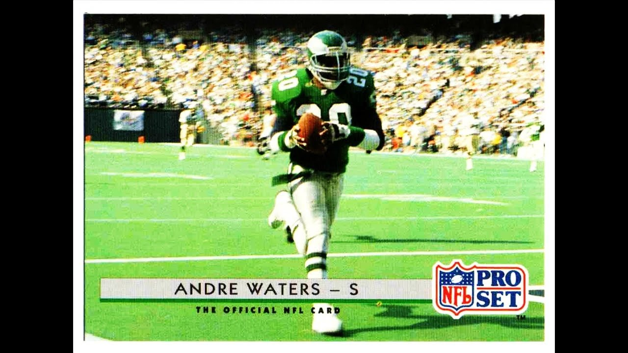 5248f517df2 PHILADELPHIA EAGLES ANDRE WATERS Highlights - YouTube