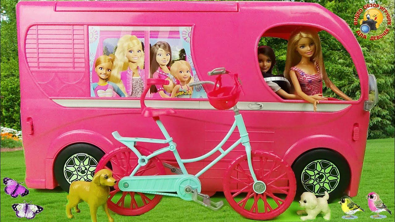 Как сделать для куклы барби машину