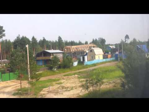 Отправление поезда № 108 сообщением Тюмень - Нижневартовск со станции Сургут