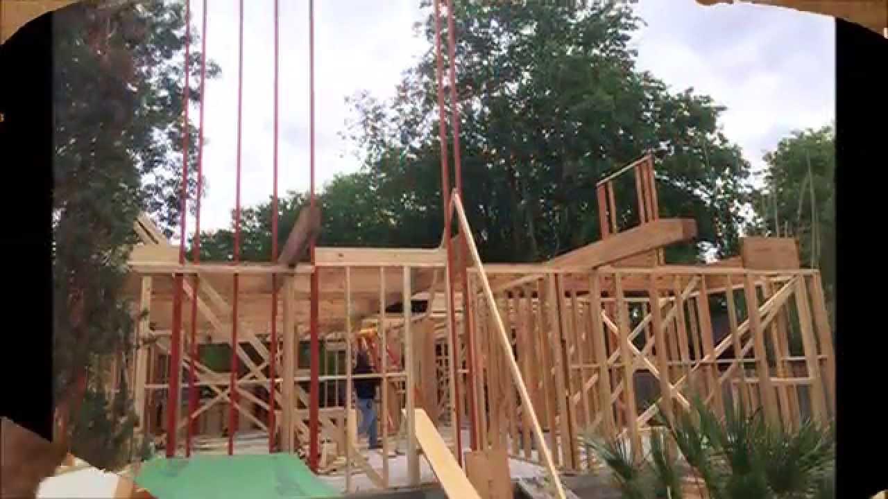 Balloon Framing LSL Lumber - YouTube
