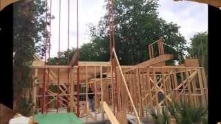 Balloon Framing LSL Lumber