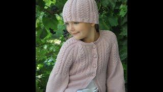 Вязание для девочек Кофты, пуловеры, жакеты
