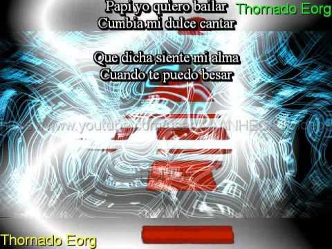 Eres Mi Dulce de Coco-Cumbia-Karaoke (Junior Klan) 2015 Thornado