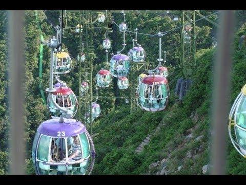 Ocean Park Hong Kong Cable Car. 香港海洋公園纜車