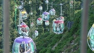 Ocean Park Hong Kong Cable Car. 香港海洋公園纜車