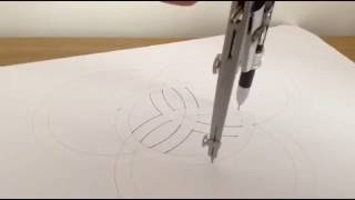 How to draw a Celtic Trinity Knot- 2