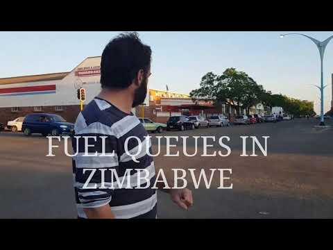 FUEL QUEUES IN ZIMBABWE - Christmas 2018