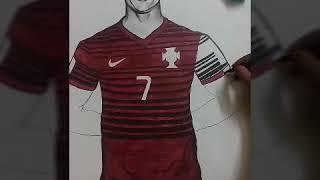 cristiano ronaldo drawing
