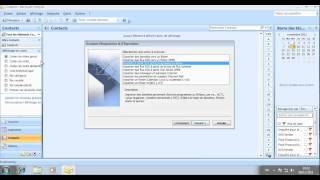 Exporter puis importer des contacts Outlook - par Super Lucien