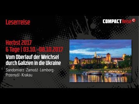 COMPACT-Leserreise: Spurensuche in Galizien