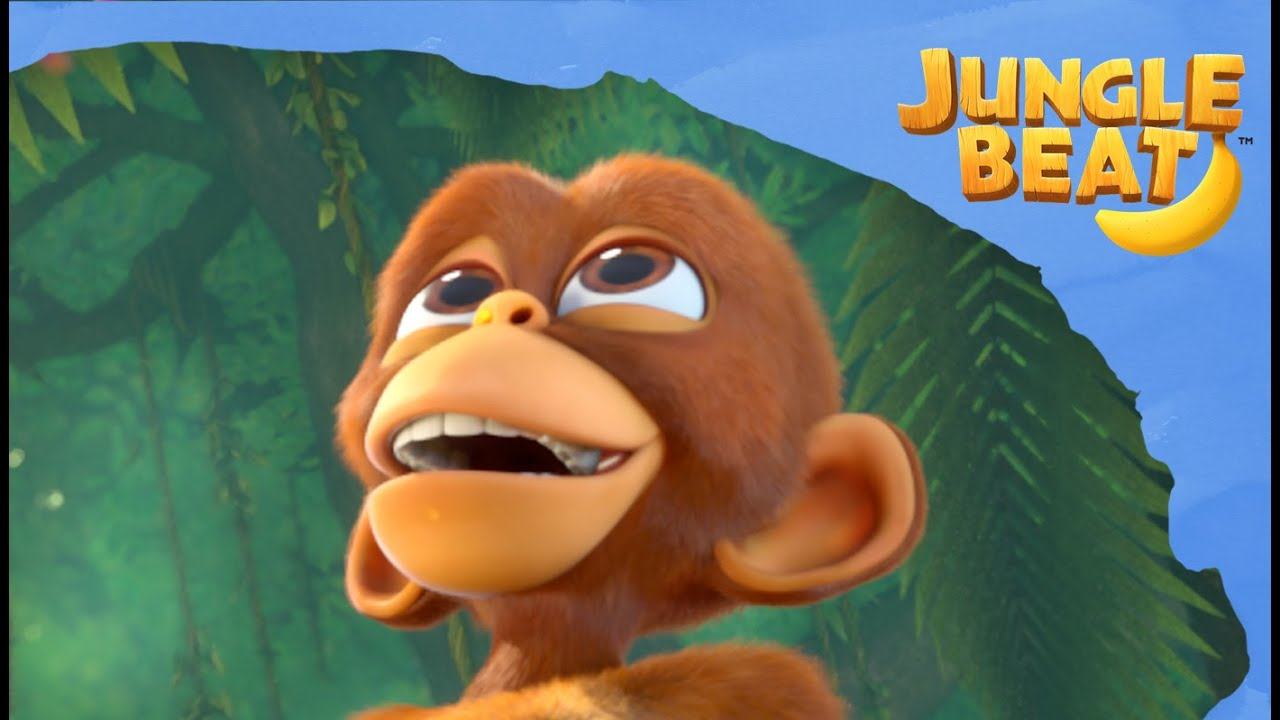 Chain Reaction 🐒🐘🍌| Jungle Beat: Munki and Trunk | Kids Animation 2021