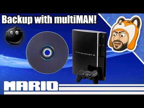 How To Backup & Play PS3 Games With MultiMAN For Jailbroken/HEN PS3s | FTP, USB, 4GB+ File Splitting